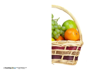 Finish the Picture - Fruit Basket