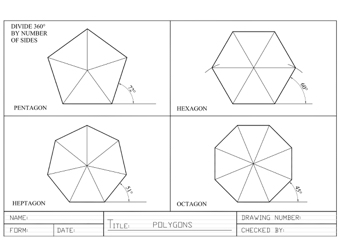 Polygons and their Construction