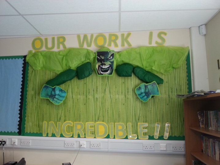Our Work is Incredible! Display