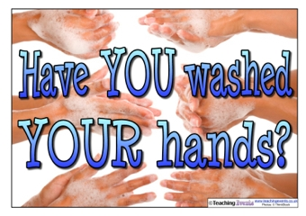 Have you washed your hands? Poster