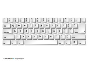Persnickety image for printable keyboards