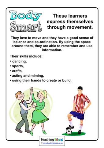 Learning Styles Information Posters