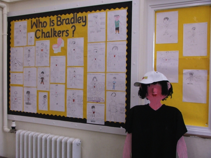 Bradley Chalkers Display