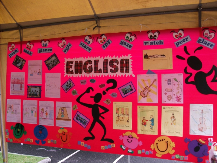 English Display