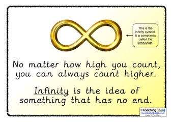 Infinity Poster