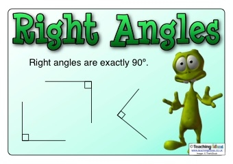 Right Angles Poster