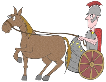 Roman Chariot Display Picture