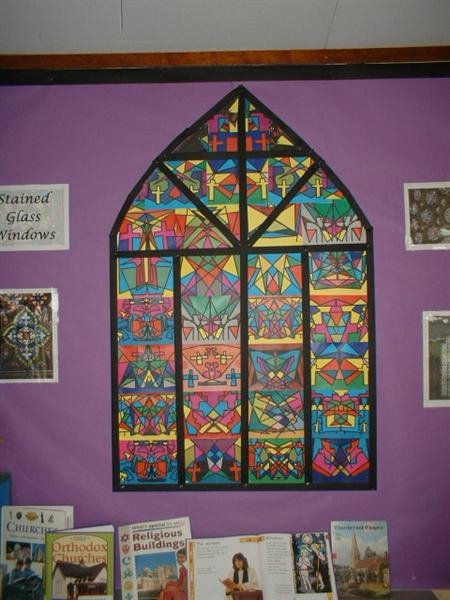 Stained Glass Windows Display