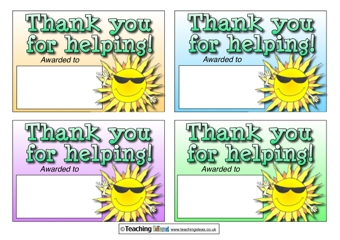 Thank you for helping!