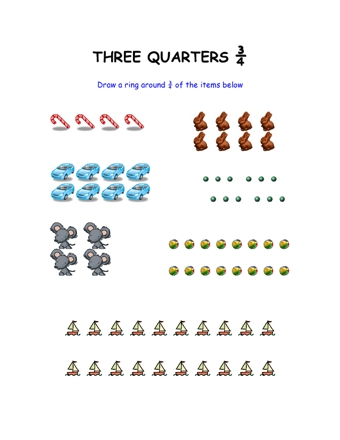Finding Three Quarters