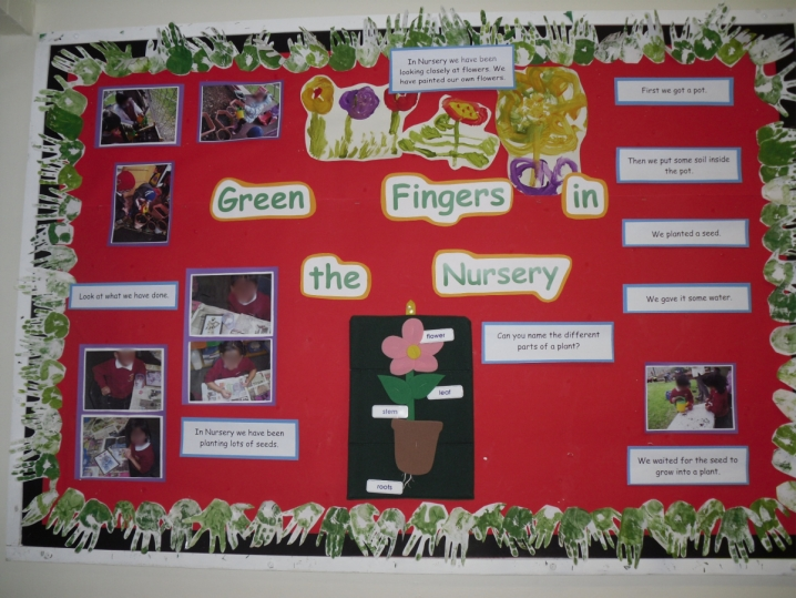 Green Fingers in the Nursery
