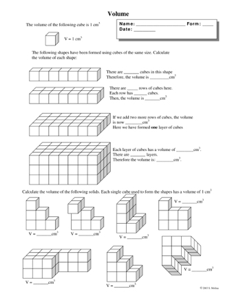 Volume of Cubes