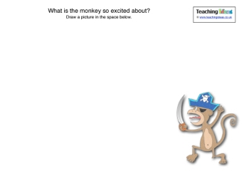 Why is the Monkey Excited?