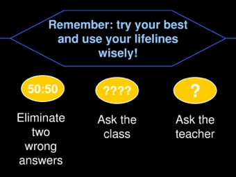 Who Wants To Be A Millionaire Template Teaching Ideas - Template who wants to be a millionaire